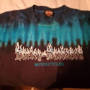 Harley Davidson Tie Dye T-Shirt XL